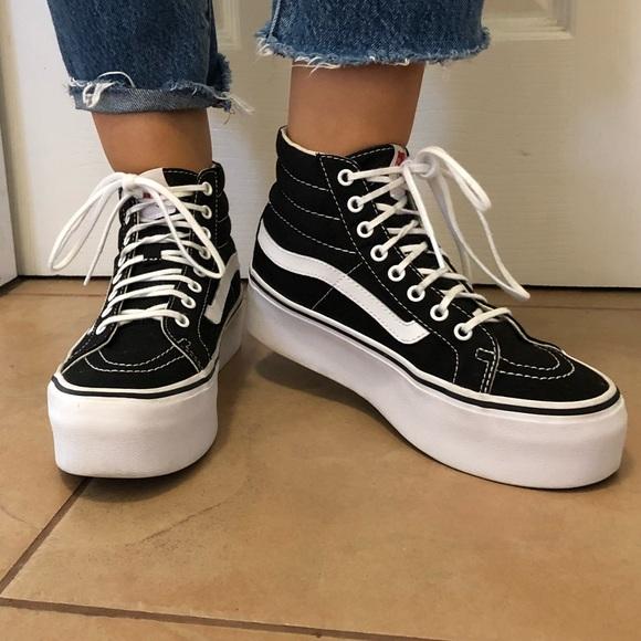 Vans Shoes | Womens High Top Platform